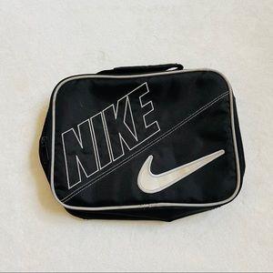 Vintage y2k NIKE lunchbox storage zip up bag